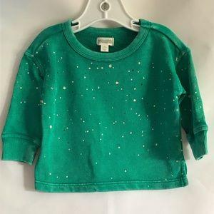 GYMBOREE Faded Green Sweatshirt